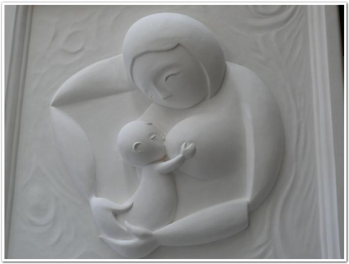 Japanese plaster art - Jiuson Oita Japan