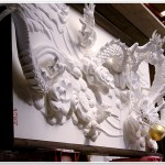 Plaster Cloud Dragon