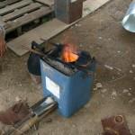 Rock stove
